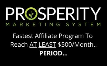 the prosperity marketing system